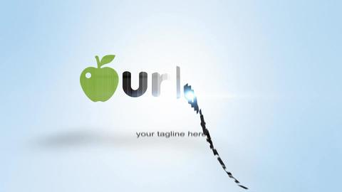 Elegant Slice Logo Reveal After Effects Template