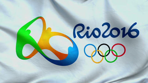 Flag-RIO 2016 Animation