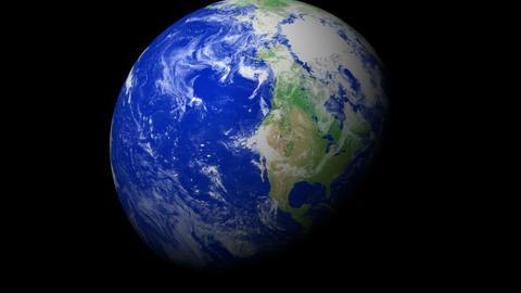 4K Earth Zoom: Los Angeles – USA Animation