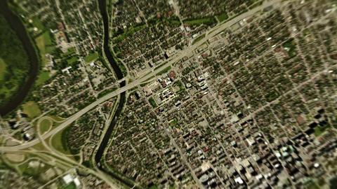 4K Earth Zoom: Ottawa – Canada Animation