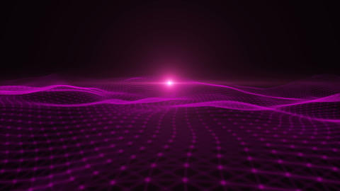 Looping Abstract wave background Animation