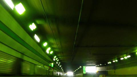 Metropolitan Expressway Kanagawa line, near the Ishikawa-cho Junction/横浜、 Footage