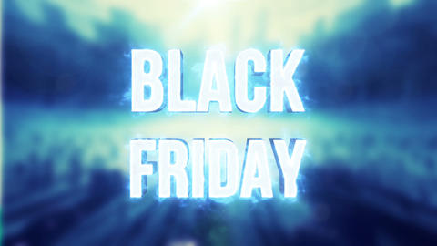 Black Friday Sale 3D Animation Animation