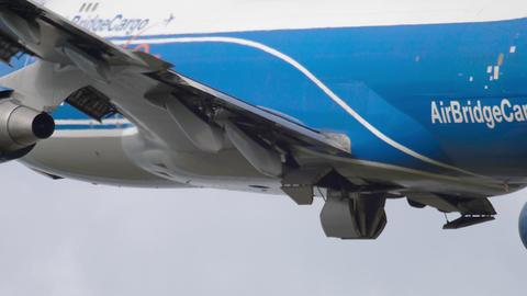 Widebody airfreighter departure Footage