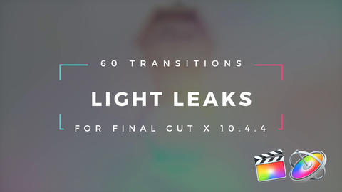 Light Leaks Transitions Plantilla de Apple Motion