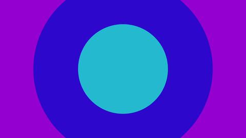 かわいい円の出現アニメーション CG動画