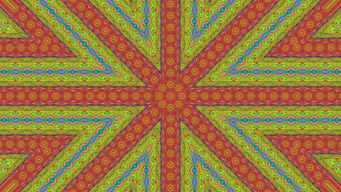 Magical kaleidoscope light transformations holographic background Footage