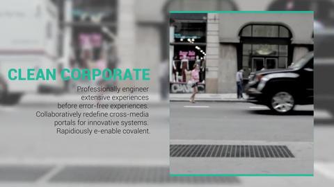 Clean Corporate Opener Plantilla de After Effects