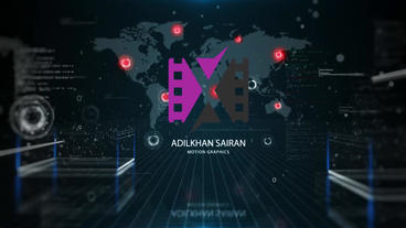 Big Data Logo Reveal After Effects Template