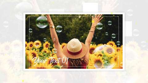 Photo Album Slideshow After Effects Template