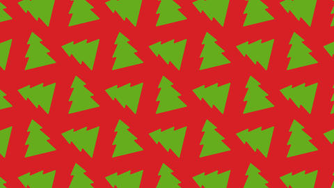 animated pattern ideal for the Christmas period Footage