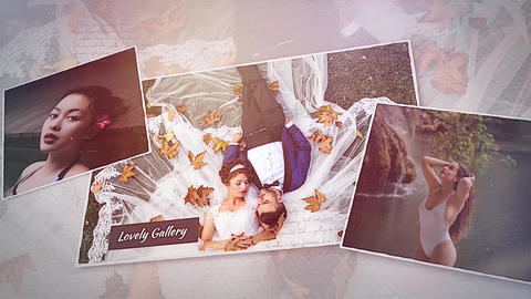 Lovely Gallery Apple Motion Template
