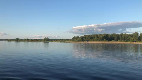 Volga River Footage