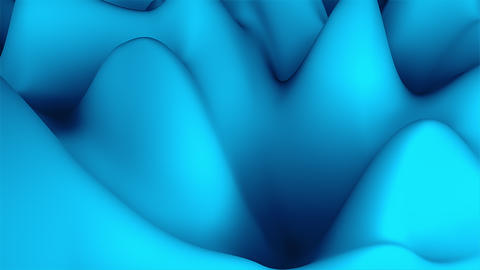 Wave 3d abstract surface, computer generated background like terrain or liquid Live Action