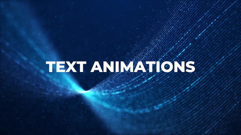 Text Animations Premiere Pro Template