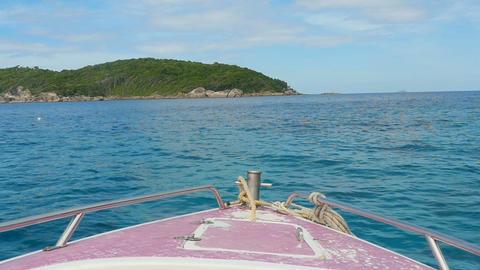 Similan Islands seascape Footage