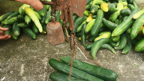 cucumber weight Footage