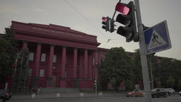 Kiev. Ukraine. National University named after Taras... Stock Video Footage