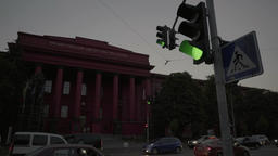 Kiev (Kyiv). Ukraine. Kiev national University in the... Stock Video Footage