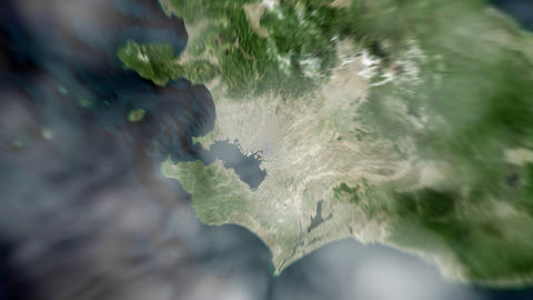 4K Earth Zoom: Tokyo – Japan CG動画素材