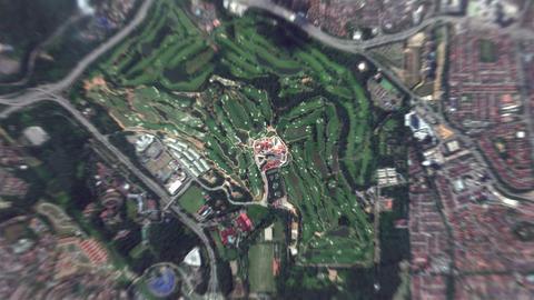 4K Earth Zoom: Kuala Lumpur – Malaysia Animation