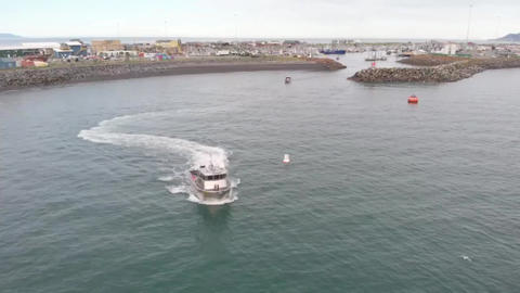 New commercial fishing boat Live Action