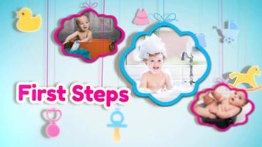 Baby Show After Effects Template