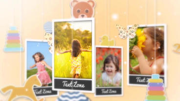 Baby Family After Effects Template
