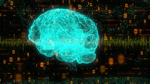 Brain Equalizer Technology Animation