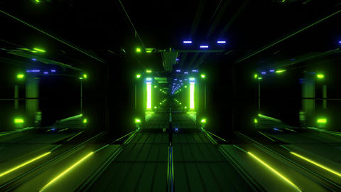 nice glowing space tunnel background wallpaper 3d... Stock Video Footage