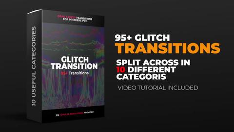 Glitch Transition Premiere Pro Template