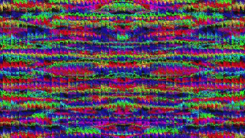 Charming bad trip effect flare iridescent background. Digital art Footage