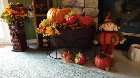 Autumn Decorations in Home Live Action