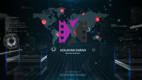 Big Data Logo Reveal After Effects Templates