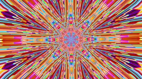 Hypnotizing bad tv imitation flare iridescent background Live Action
