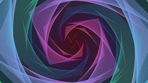 Elegant waves Animation Background-2 CG動画
