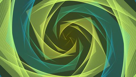 Elegant waves Animation Background-3 CG動画