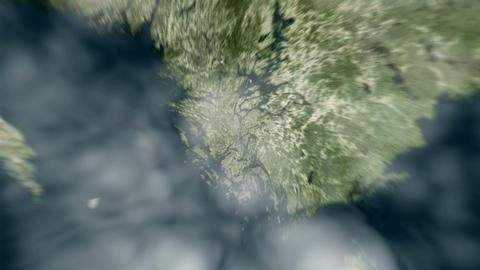 4K Earth Zoom: Stockholm – Sweden Animation