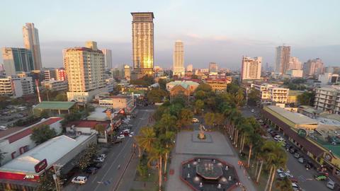 Rajah Sulayman Park in Manila Footage