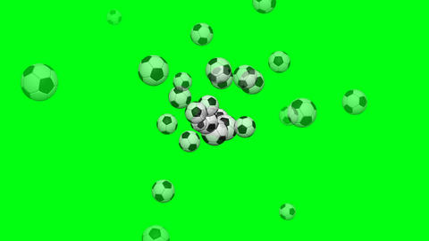Soccer ball animation background Animation