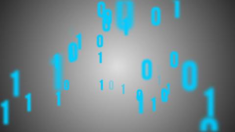 Binary code background animation Animation