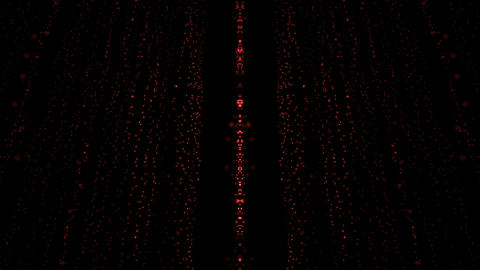 Particle Rain Comet Star Animation