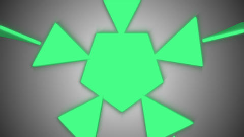 Abstract triangles background Animation