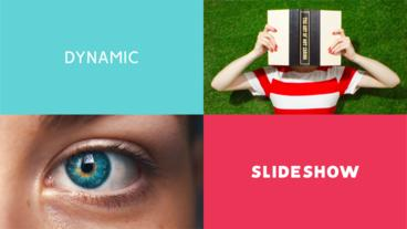 Sliding Slideshow After Effects Template