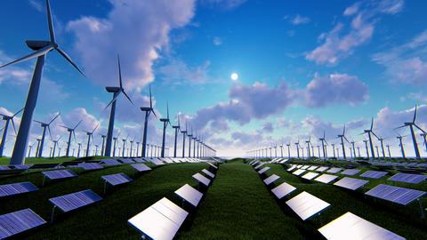 Wind Turbine 06 Animation