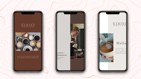 Instagram Stories: Coffeehouse After Effects Template