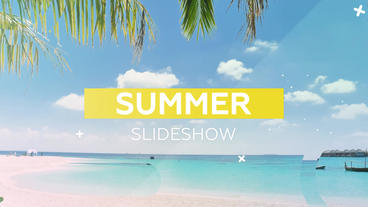 Summer Slideshow After Effects Template