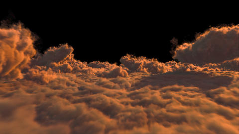 Sunset Clouds Animation