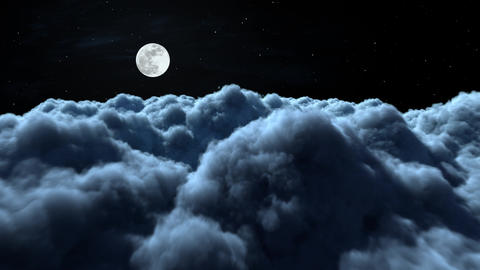 Night Clouds Animation