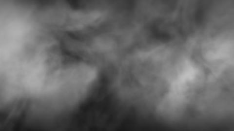 Fog Smoke Full Screen Front wind Loop Animation